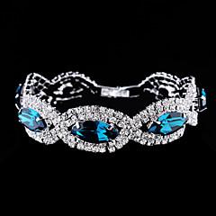 XXI Women's The Newest Fashion Casual Gold Plated/Rhinestone Chain Bangles Bracelet 1pc