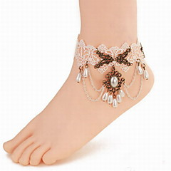 Fashion Women Alloy/Imitation Pearl/Lace Bracelet Anklet Party/Casual