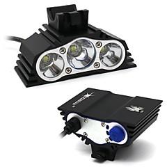 Φακοί Κεφαλιού Κιτ Φακών Λαμπτήρες LED LED 7500 Lumens 4.0 Τρόπος XM-L2 T6 Όχι Αδιάβροχη για Κατασκήνωση/Πεζοπορία/Εξερεύνηση Σπηλαίων