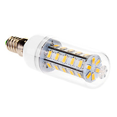 9W E14 LED Corn Lights T 36 SMD 5630 760 lm Warm White AC 220-240 V