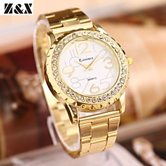 Women's Fashion Diamond Marble Mirror Quartz Analog Steel Belt Bracelet Watch Cool Watches Unique Watches Strap Watch