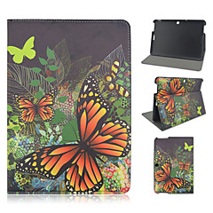 10.1 Inch Butterfly Pattern PU Leather Stand Case for Asus MeMO Pad 10-ME103K