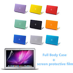 top quality caso corpo opaco e lo schermo cinematografico protetive per MacBook Air da 13.3 pollici (colori assortiti)