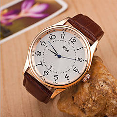 Women's Round Dial Case Leather Watch Brand Fashion Quartz Watch(More Color Available)