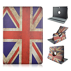 360 Degree Rotation Flag Pattern PU Leather Case for Samsung Galxy note Pro 12.2 P900