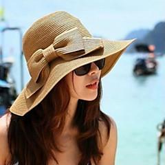 Γυναικείο Τεχνουργήματα καλαθοποιίας Headpiece-Ειδική Περίσταση Καθημερινά Υπαίθριο Καπέλα 1 Τεμάχιο
