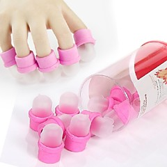 10PCS Nail Polish Gel Remove  Protection Nail Art Tools