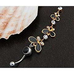Navel & Bell Button Rings Šperky Animal Shape 1ks