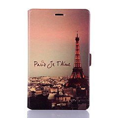 Colored Drawing Series Shell  Smart Tablet Protective Case Ultra-thin Leather Cover Case for Huawei Honor S8-701U/w