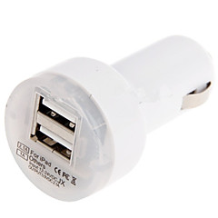 Dual USB Car Charger Mini Power Inverter for iPhone 6/ 6 Plus/5/5S and Others(5v,2.1A)