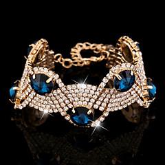XIXI Women's The Newest Fashion Casual Gold Plated/Rhinestone Chain Bracelet