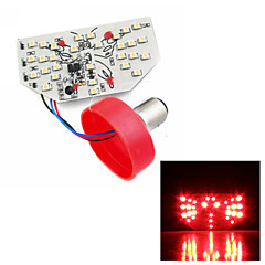 Merdia 1157 2W 85LM 3528SMD LED Blue/Red/White Light Brake Light / Decorative Lights/Taillight for Car(1 PCS/12V)