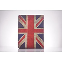 uk nationale flag pu læder full body TPU Taske med kort holder til iPad 2 / iPad 3 / iPad 4