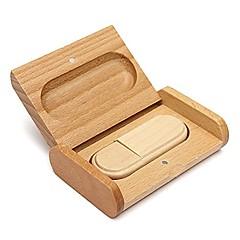 lemn minunat model de USB de memorie de 2.0 unitate degetul mare de disc o unitate flash pen driveu 4GB