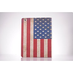 usa nationale flag pu læder full body TPU Taske med kort holder til iPad 2 / iPad 3 / iPad 4