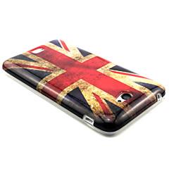 Mert Sony tok Minta Case Hátlap Case Zászló Puha TPU mert Sony Sony Xperia E4
