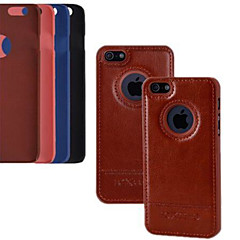 3.5 Inch Luxury PU Leather Case Back Cover for iPhone 4/4S (Assorted Colors)