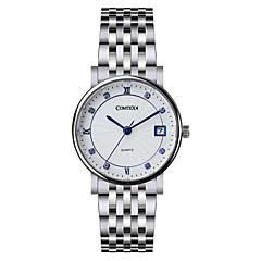 Mme. acier comtex montre à quartz montre s6194l-2-3