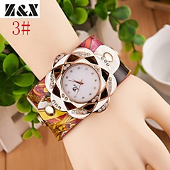 Women's Fashion Set Auger Quartz Steel Belt Wrist Watch(Assorted Colors)