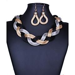 Xu™ Women's Necklace Earrings Suit