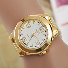 kvinnors klockor schweiziska kvarts klocka mode lättmetall stål watch