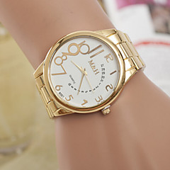 Women's Watch Women's Swiss Quartz Alloy Watch Individual Digital Gold Belt Watch