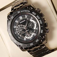Disc Steel Quartz Watch Men's Watch Fashion Atmosphere