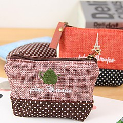 Fashionable Fabric Time Stylish Multi Color Cloth Coin Purse (Random Delivery)