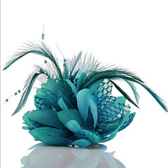 Feather Lace Headpieces Hair Ties Fascinators