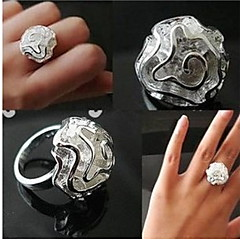 Ring Wedding / Party / Daily / Casual / Sports Jewelry Alloy Women Statement Rings 1pc,7