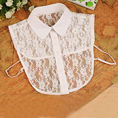 Fashion Women`s Solid Lace Collar Necklaces Joker Daily/Casual