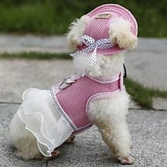 Koty / Psy Uprzęże / Bandany i kapelusze Red / Pomarańczowy / Niebieski / Purpurowy / Black / Różowy Ubrania dla psów Lato / Wiosna/jesień