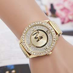 Women's Watch Quartz Watch Inner Frosted Diamond Alloy Steel Watch Cool Watches Unique Watches Fashion Watch