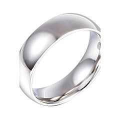Toonykelly® Stainless Steel Ring 925 Silver Statement Ring 1pc