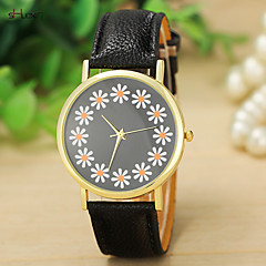 Women's Leather Band Quartz Anolog Wrist Watch(Assorted Colors)