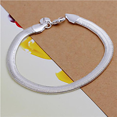 Jadoku Chain Sterling Silver Bracelet Chain & Link Bracelets Wedding/Party/Daily/Casual 1pc