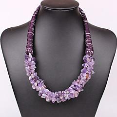 Women Vintage/Cute/Party/Casual Alloy/Gemstone & Crystal/Cubic Zirconia Necklace Sets