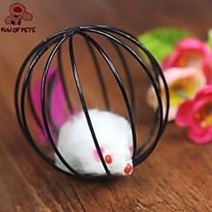고양이 장난감 반려동물 장난감 티저 / 쥐모양 장난감 케이지 볼 / 마우스 플라스틱 블랙