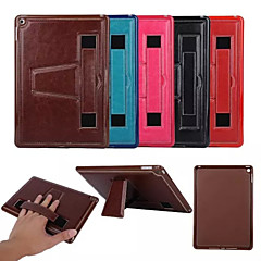 "9.7""Inch Crazy Ma Pattern Luxury PU Wallet Leather Back Cover with Stand for iPad 2/3/4(Assorted Colors)"