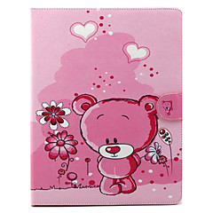Cartoon Bear Pattern Full Body Cover for iPad 2/3/4