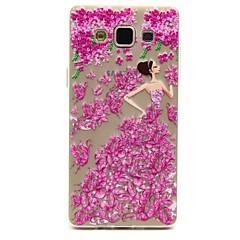 Για Samsung Galaxy Θήκη Διαφανής / Με σχέδια tok Πίσω Κάλυμμα tok Σέξι κυρία TPU Samsung A7 / A5 / A3