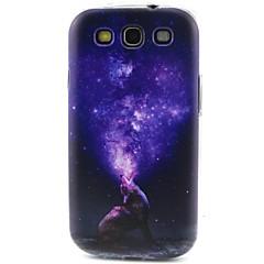 TPU caso de telefone padrão lobo macio para Samsung Galaxy S3 S4 S5 S6 S6 borda s5mini