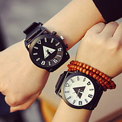 Unisex Colorful Couple's Watch Student Men Or Women Watch