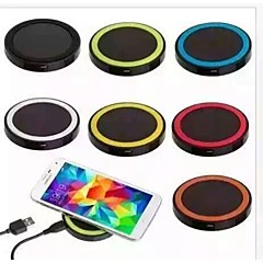 QI Wireless Charge 5V 1A Wireless Charger Pad for Built-in Qi Receiver Smart PhoneSamsung S8 S8 PLUS S7 Edge S6 Edge Plus Note5 LG G2 G3 G4