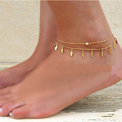 Women's Anklet/Bracelet Alloy Unique Design Fashion Jewelry Women's Jewelry Party Daily Casual 1pc