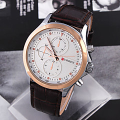 Men'S Watch Leisure And Business Men'S Casual Watches High Quality Leather Watch