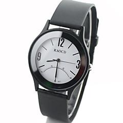 Heren / Dames / Uniseks Dress horloge Kwarts Rubber Band Zwart Merk-