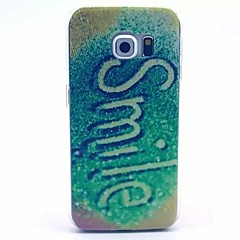 Smile Pattern PC Material Phone Case for Galaxy S6 / Galaxy S6 edge / Galaxy S3 / Galaxy S5Mini
