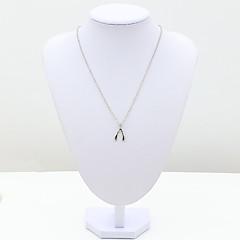 Dames Kettingen Kristal imitatie Diamond 18K goud Modieus Zilver Sieraden