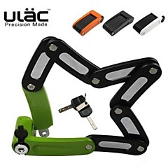 ULAC Optimal Force Locked Folding Bike Lock Mountain Road Car Tire Lock